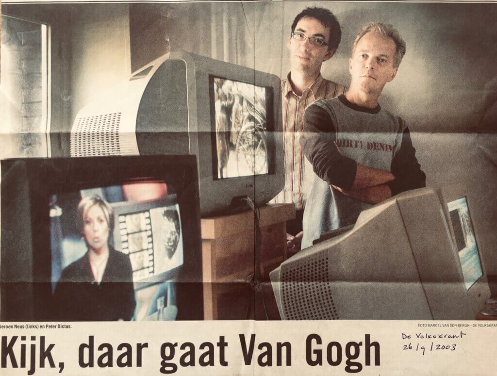 Kijk daar gaat Van Gogh 1